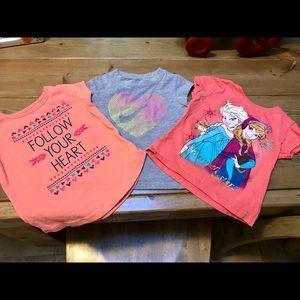 Toddler girl t-shirt bundle